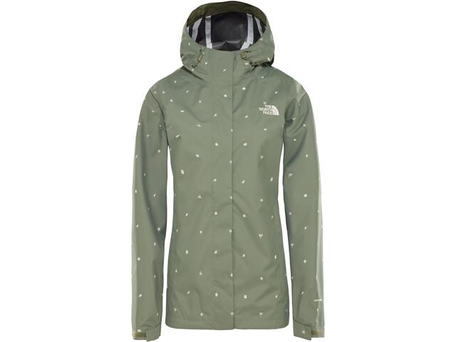 d7dabc3819 ... The North Face Print Venture Jacket Damen four leaf clover outdoor print.  The ...